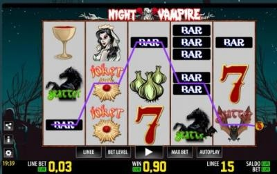 slot night vampire