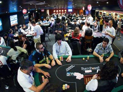 La Poker Room del Casino di Barcellona