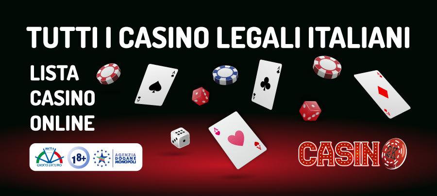 Lista Casino Online Aams Adm Elenco Di Tutti I Casino Legali Italiani